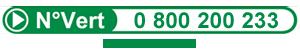 0 800 200 233 Numéro vert ADVP